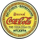 Cartel de chapa 'Coca-Cola', Tamaño: 30 x 30 cm