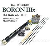 "Winston Boron IIIx 590-4 Fly Rod Outfit (9'0"", 5wt, 4pc)"