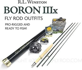 "Winston Boron IIIx 690-4 Fly Rod Outfit (9'0"", 6wt, 4pc)"