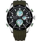 Wrath Ripe Green Sports Analog & Digital Luxury Watch for Men & Boys (1623_Green).