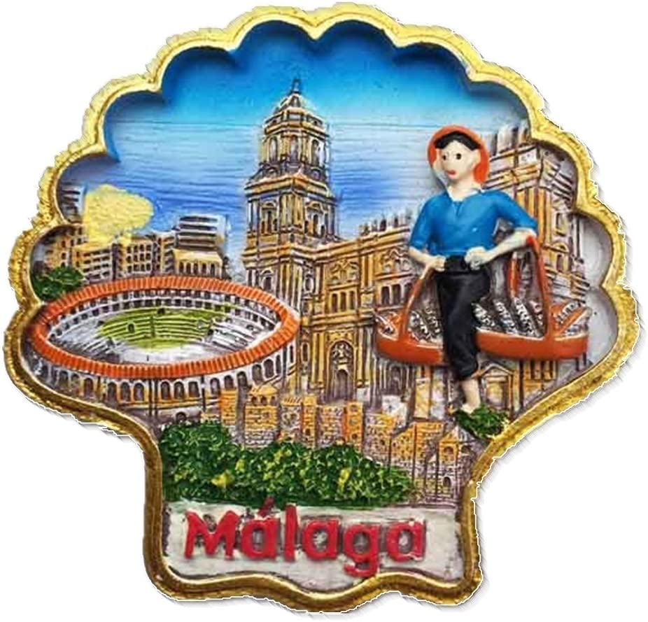 Picasso Hometown Málaga España Europa Ciudad del Mundo resina 3d ...