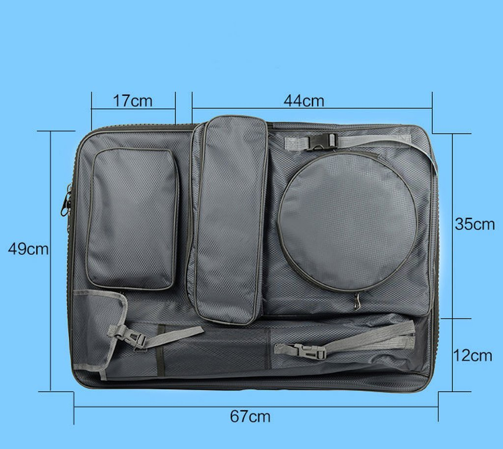 Drawing Board Backpack Art Carrying Case Painting Sketch Sketchpad Holder Portfolio Zipper Bag Pack