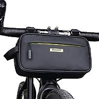 Rhinowalk Multifunctionele fietsstuurtas voortas fietstas waterdichte schoudertas handtas heuptas