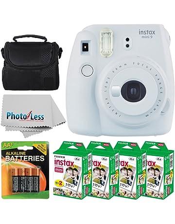 cac60edd12597b Fujifilm instax mini 9 Instant Film Camera (Smokey White) + Fujifilm Instax  Mini Twin
