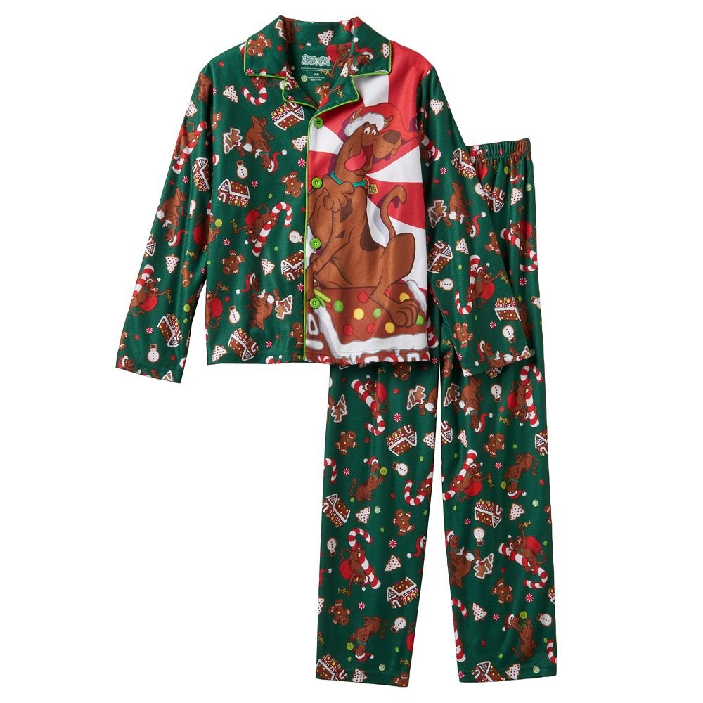 ef17c4e668 Amazon.com  Little Boys  Scooby Doo coat Pajama Set (XS(4 5))  Baby