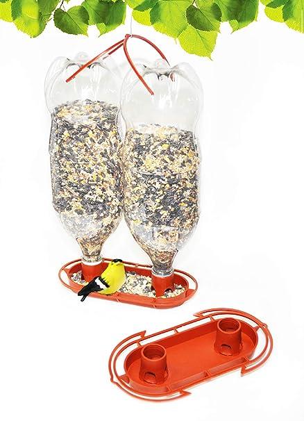 Amazon.com: gadjit Botella de refresco Jumbo Comedero para ...