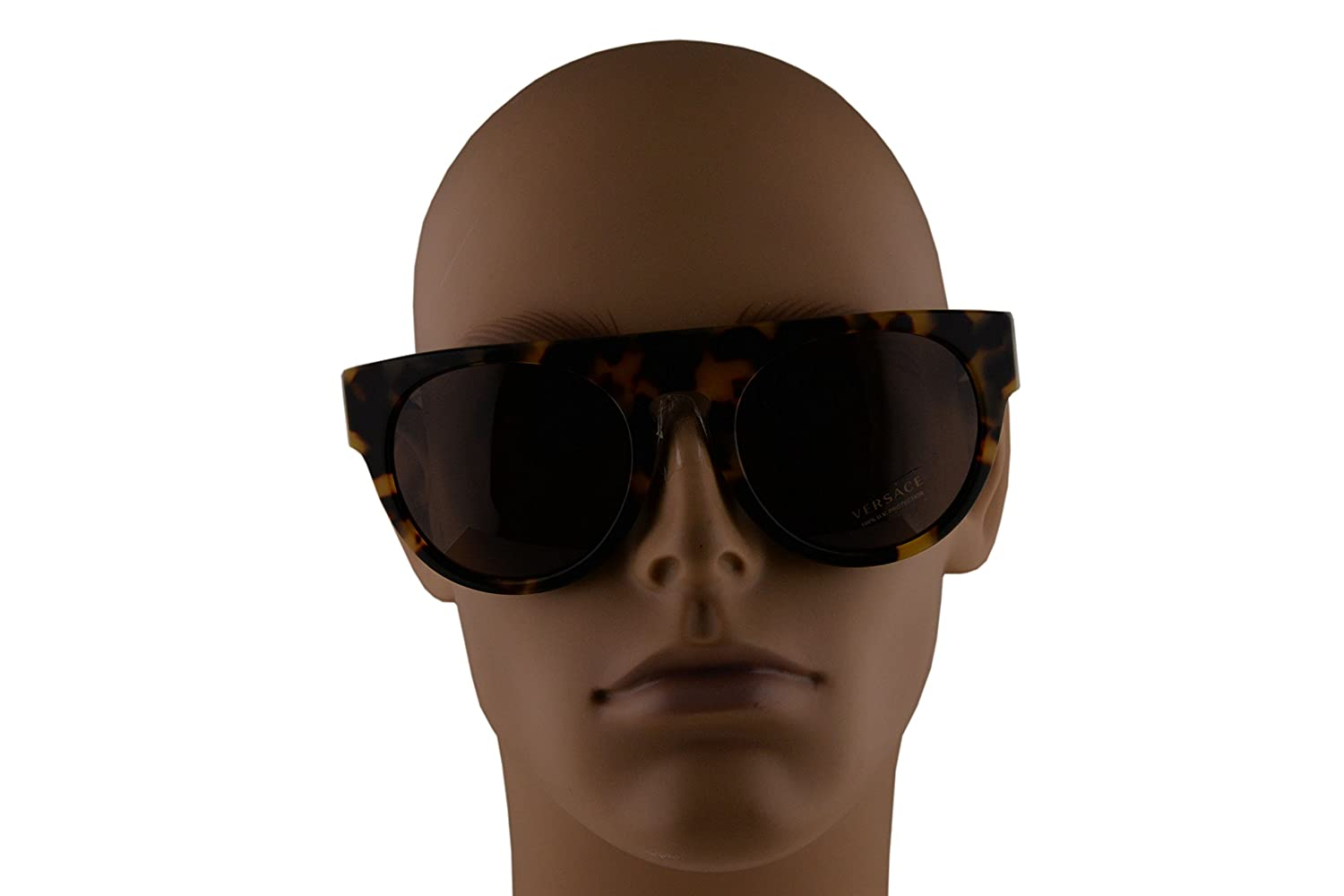 864da7614c3 Amazon.com  Versace VE4333 Sunglasses Havana White Black w Brown Lens  523173 VE 4333  Sports   Outdoors