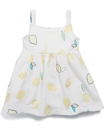 Mamas & Papas Lemon Print Jersey Dress, Vestido para Bebés