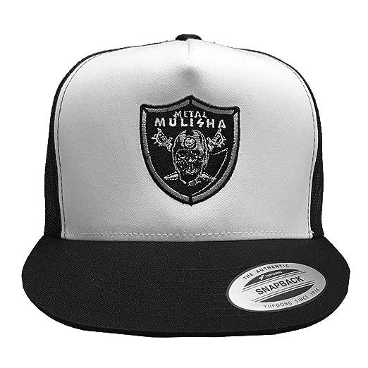 Metal Mulisha Mens X Nation Snapback Hat White/Black: Amazon.es ...