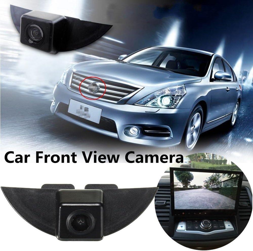 HD 720p Front View Logo Embedded Camera Parking System,CCD Waterproof Wide Degree for Nissan Armada Frontier Murano Kicks Genis//Sunny//Qashqai//X-Trail//Dualis//Navara//Juke