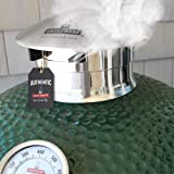 Smokeware SS Vented Chimney Cap for Big Green Egg (R)