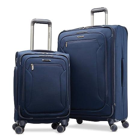 Samsonite Explore Eco 2 Piece Softside Suitcase Set BLUE ...