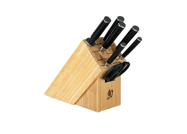 Shun DMS0820 Classic 8-Piece Epicurean Block Knife Set
