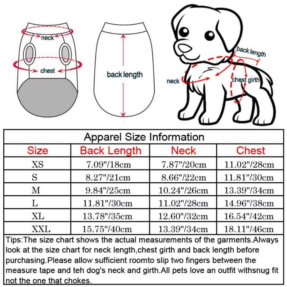 para Perros y Gatos Handfly Chubasquero para Perros peque/ños y medianos con dise/ño de Mariposas y Mariposas