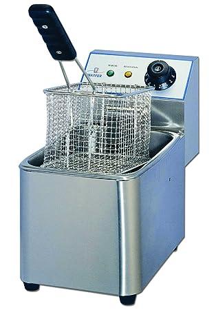 Freidora eléctrica de mesa profesional 4L 2500 W - Matfer: Amazon.es: Hogar