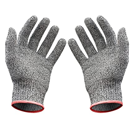 Self Defense Supplies Anti-cut Gloves Safety Cut Proof Stab Resistant Stainless Steel Wire Metal Mesh Kitchen Butcher Cut-resistant Safety Gloves