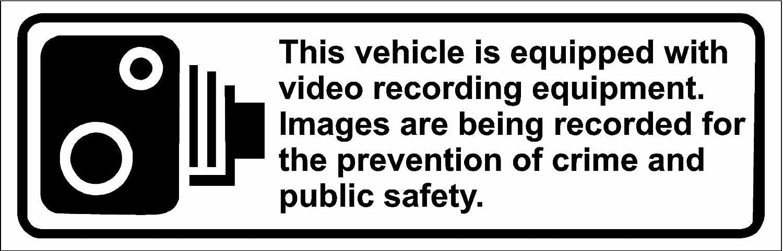 Amazon.com: Este Vehículo está equipado con grabación de ...