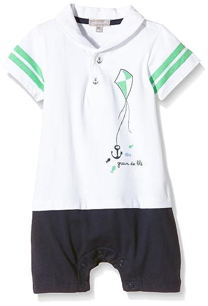 Grain de Blé 1H33025, Ropa de Bautizo para Bebés, (Blanc), 3 Mes: Amazon.es: Ropa y accesorios