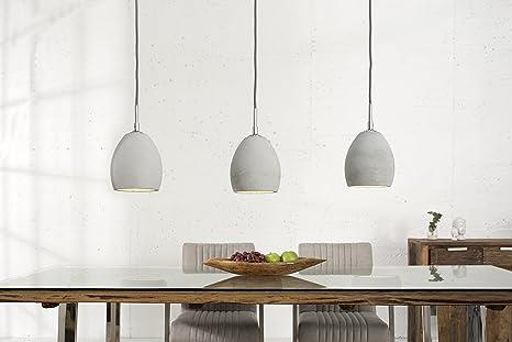 Wohnzimmer Beleuchtung Modern Designerleuchte E14 3-flammig Schirme ...