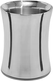 product image for Mr. Ice Bucket Stainless Steel Wine Cooler, Large, Chrome