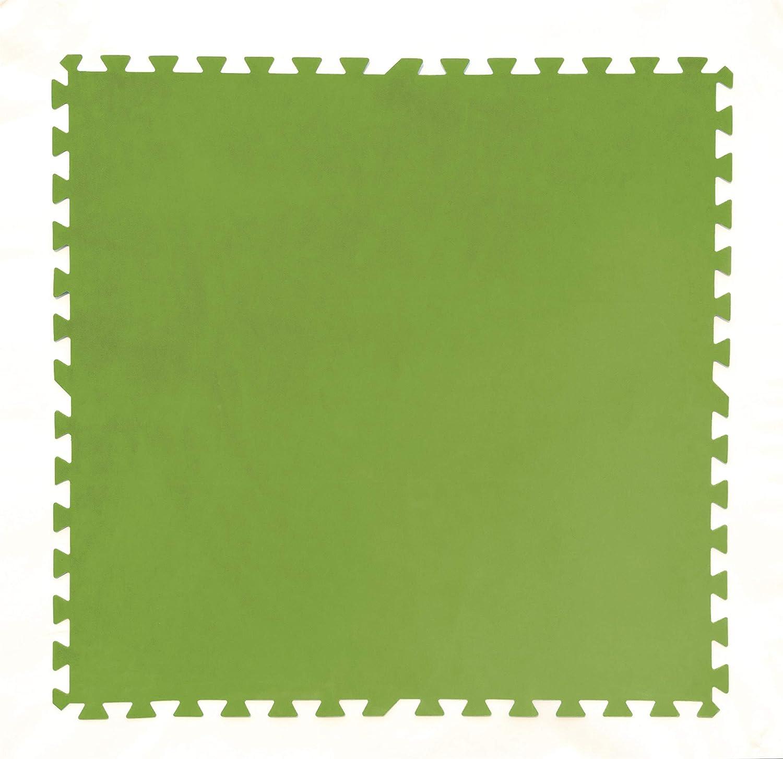 Tapiz de Suelo de Goma Bestway 81x81 cm (Verde)