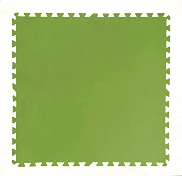 Bestway 58265 - Tapiz de Suelo de Goma 81x81 cm Verde: Amazon.es: Jardín