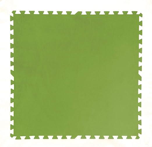 Tapiz de Suelo de Goma Bestway 81x81 cm (Verde): Amazon.es: Jardín