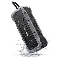 Poweradd Cassa Bluetooth Wireless Waterproof con Alte Prestazioni Sonore Dotato di 4 Speakers per un Totale di 36W Altoparlante Bluetooth Portatile con Impermeabilità IPX7 a Prova di Urti e Polvere, Perfetto Per Utilizzo All'aperto