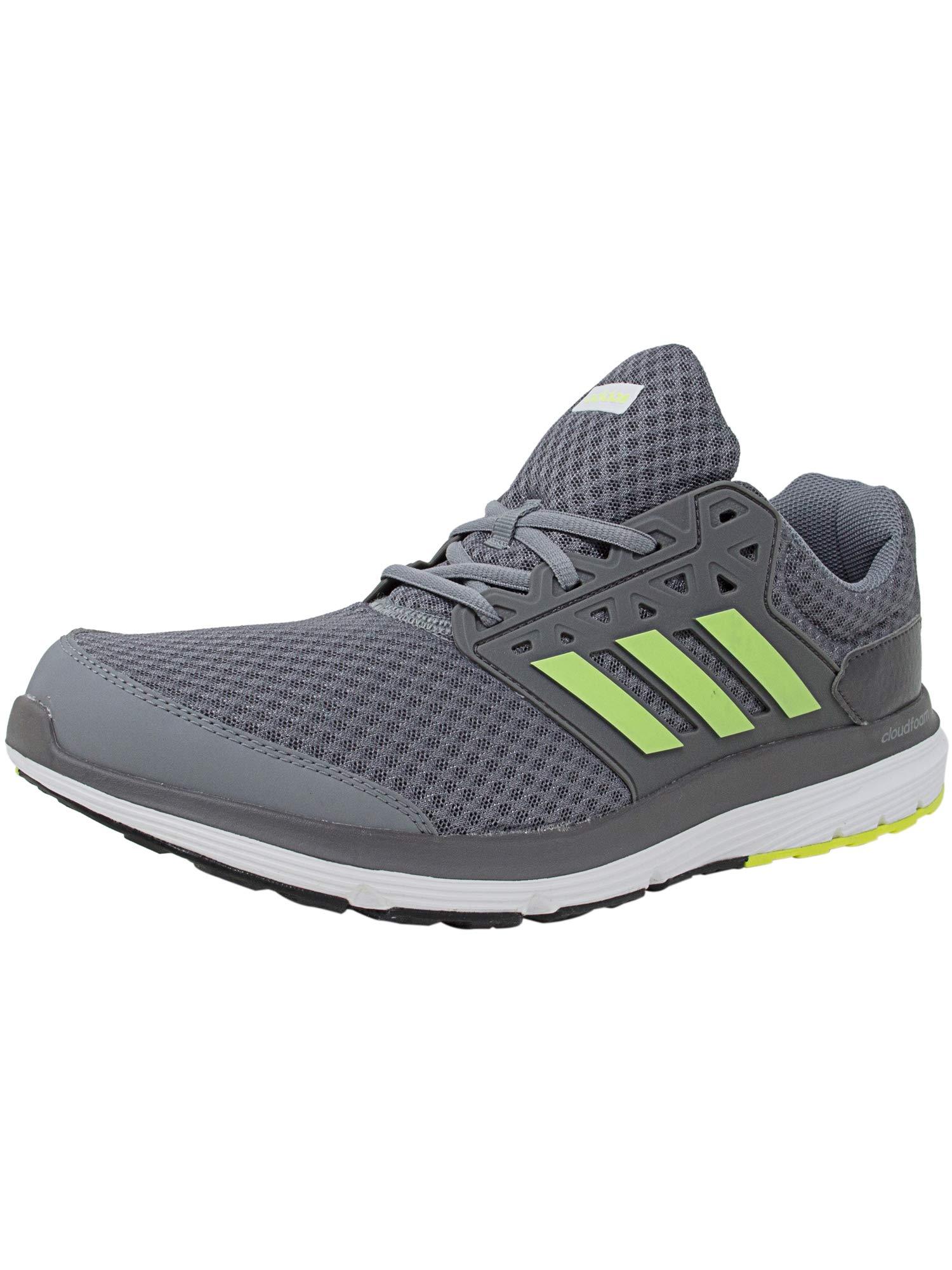 adidas Men's Galaxy 3 M Running Shoe Solar YellowDark Grey, 11 M US