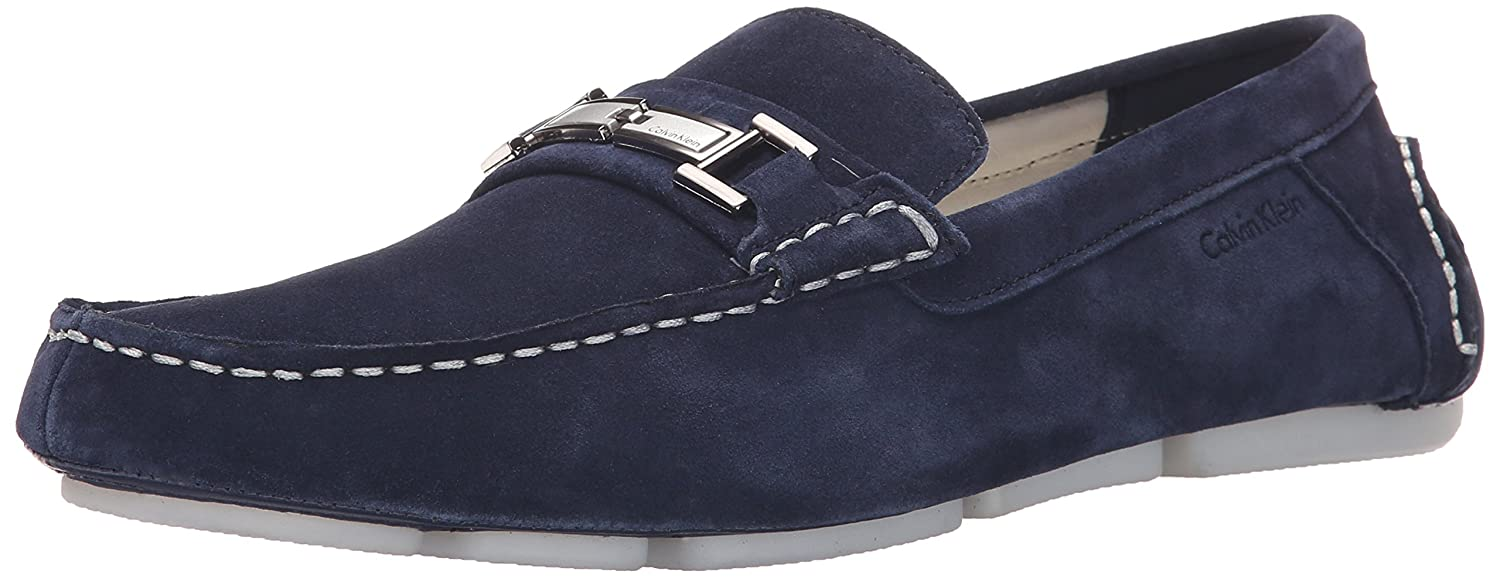 3c0d15712f6 Calvin Klein Magnus Calf Suede Slip-on Loafer  Amazon.co.uk  Shoes   Bags