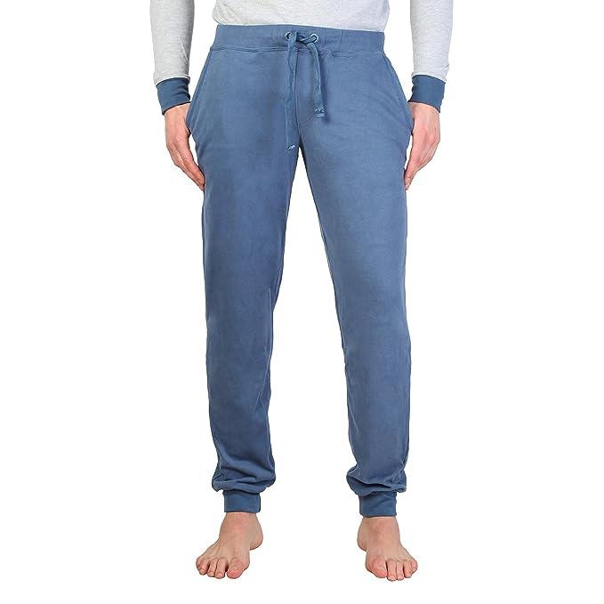 Datch - Pantalón de chándal con Bolsillo Lateral y cordón para ...