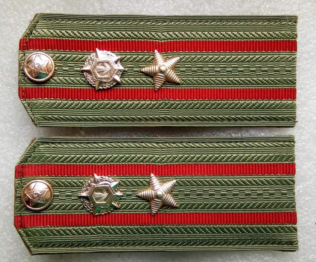 Shoulder straps Chemical troops Major For shirt USSR Soviet Union Russian Armed Forces Military Uniform Cold War Era