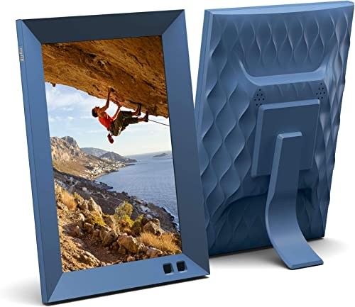 Lola 8 Inch Digital Photo Frame with WiFi – Blueberry