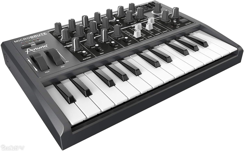 Arturia MicroBrute - Teclado MIDI (USB, 12V) color negro ...