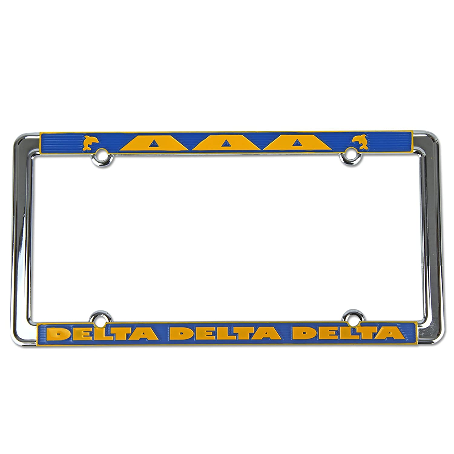 Alexandra And Company License Plate Frame Kappa Alpha Theta
