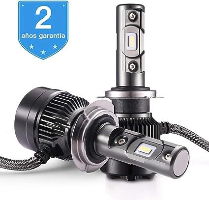 Bombilla H7 LED - 1 par, AUTLEAD para Coche Faros Delanteros ...