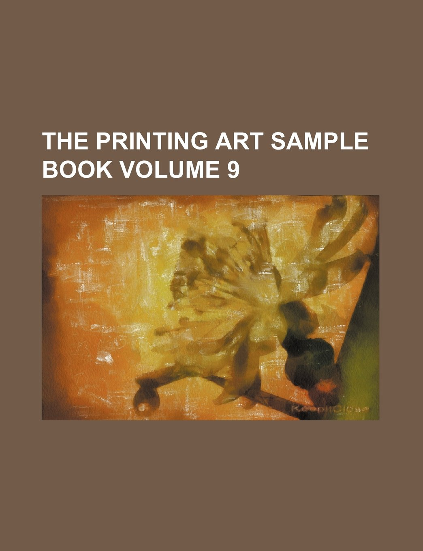 Download The Printing Art Sample Book Volume 9 pdf