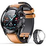 AGPTEK Smartwatch, Reloj Inteligente 1.3 Inch HD con Control de Podómetro Pulsómetro Cronómetro Calorías Monitoreo del…