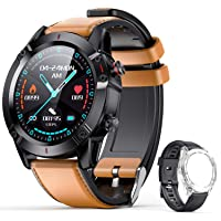AGPTEK Smartwatch, 1.3 Inch HD Smartwatch with Blood Pressure / Oxygen Monitoring ...