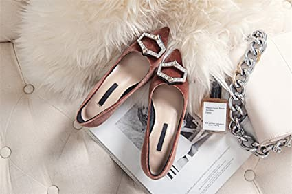 67df8230067c2 Amazon.com: LUCKY CLOVER-CC Plus Sized High Heels Rhinestone Sandals ...