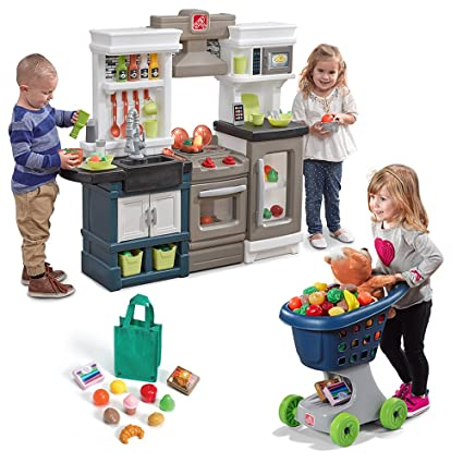 Amazon Com Step2 Little Chef S Kitchen Play Set Toys Games