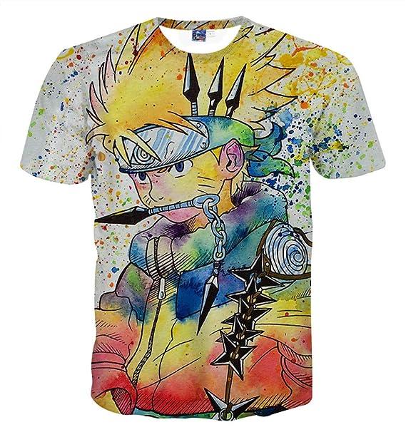 Kostüme Naruto Anime Manga Cosplay 3d T-shirt Polyester Neu