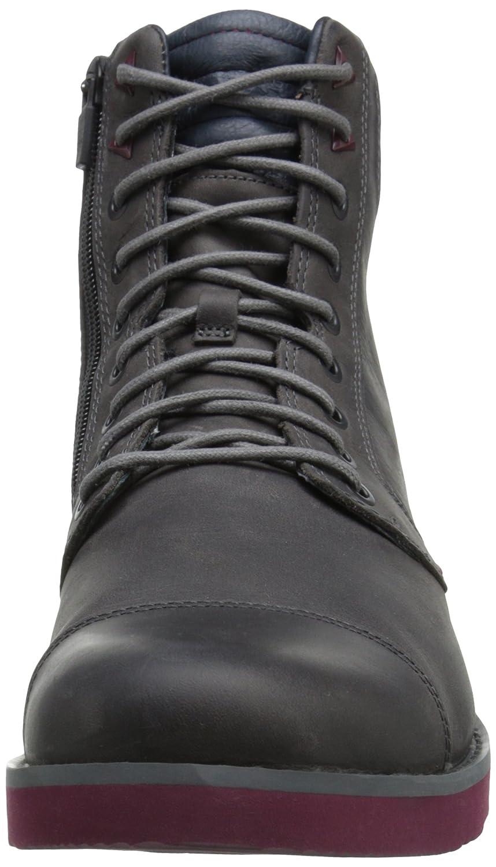 Teva M Mason Tall - Leather-M - Botines de Piel Hombre, Color Gris, Talla 39: Amazon.es: Zapatos y complementos