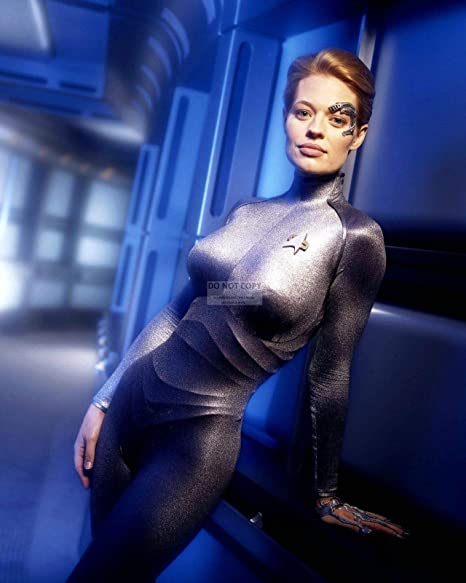 Bucraft Jeri Ryan In Star Trek Voyager Seven Of Nine 8x10 Publicity Photo Ab 559 Photographs