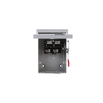 SIE LNF222R 60 Amp, 2 Pole, 240-Volt, Non-Fused, Outdoor Rated ... on 3 pole disconnect switch diagram, ac disconnect electrical box outside, ac disconnect box parts, ac disconnect switch, grid tie solar systems diagram, residential breaker box diagram, electrical disconnect diagram, ac disconnect pull, one single line electrical diagram, ac disconnect on roof,