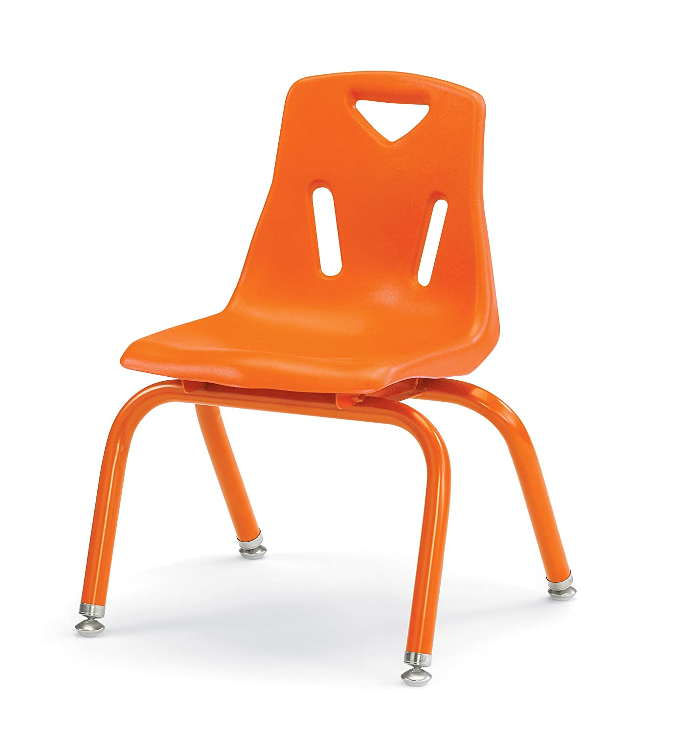 Berries 8118JC1003 Stacking Chair with Powder-Coated Legs, 8