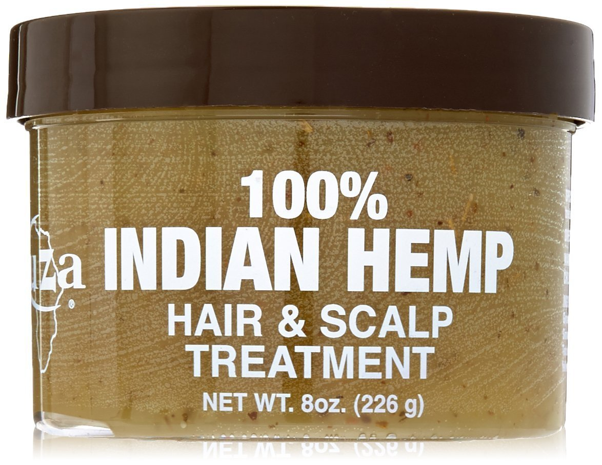 KUZA Indian Hemp Hair and Scalp Treatment, 8 oz : Hair And Scalp Treatments : Beauty