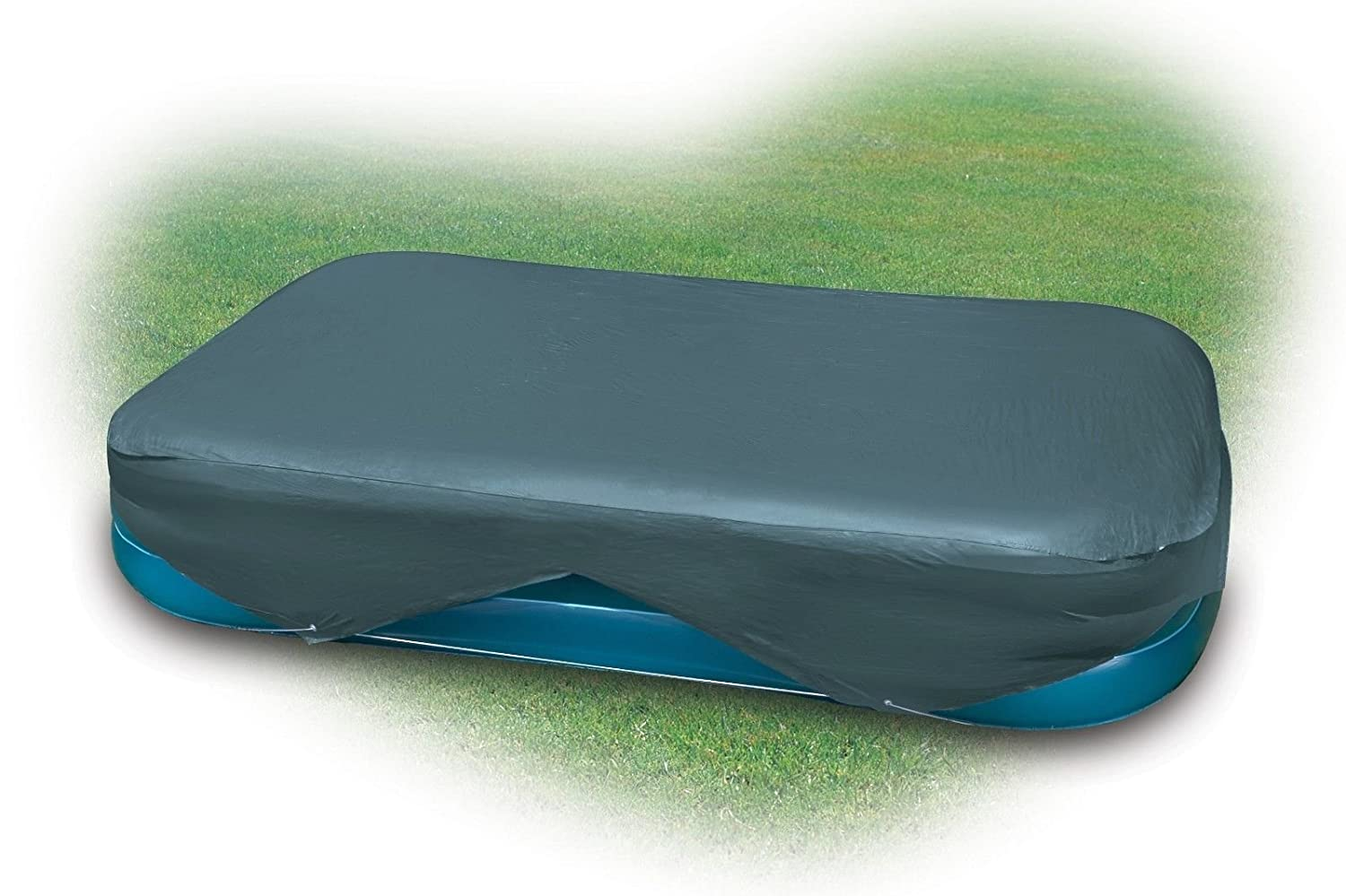 B000QF1F7Q Intex Rectangular Pool Cover for 103 in. x 69 in. or 120 in. x 72 in. Pools 71KdVM25UVL