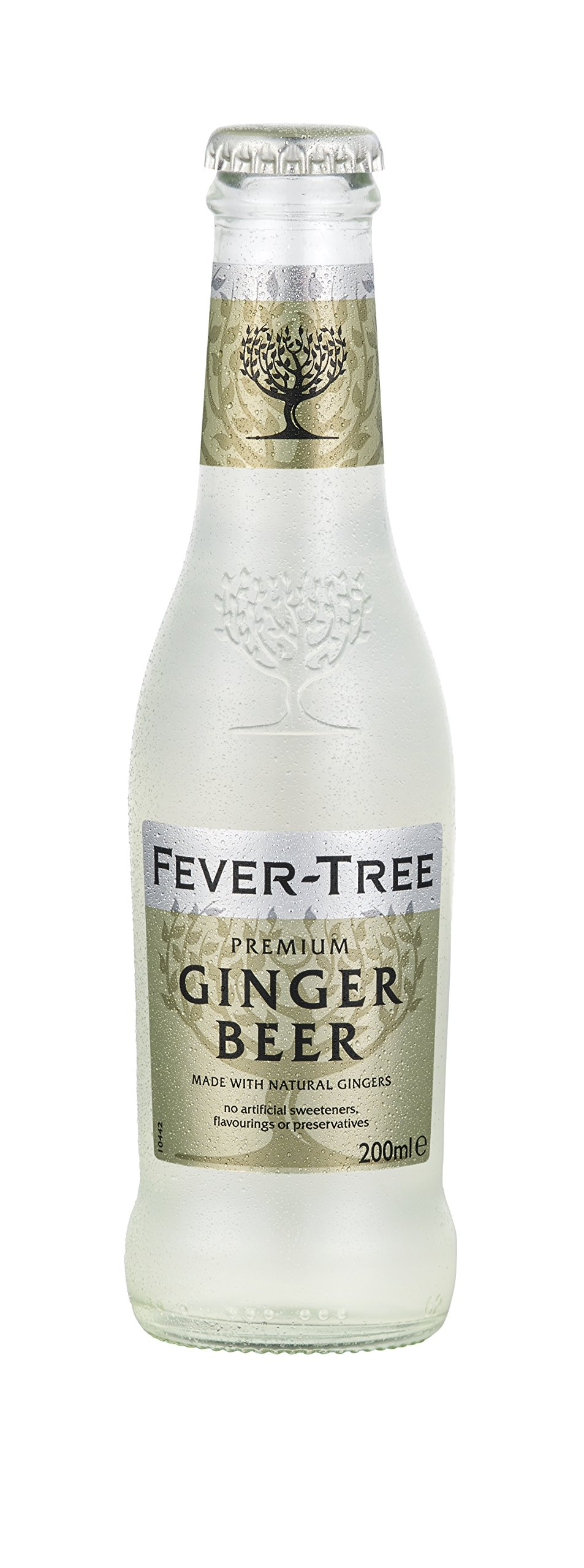 Fever-Tree Premium Ginger Beer, 6.8 Ounce Glass Bottles (Pack of 24)