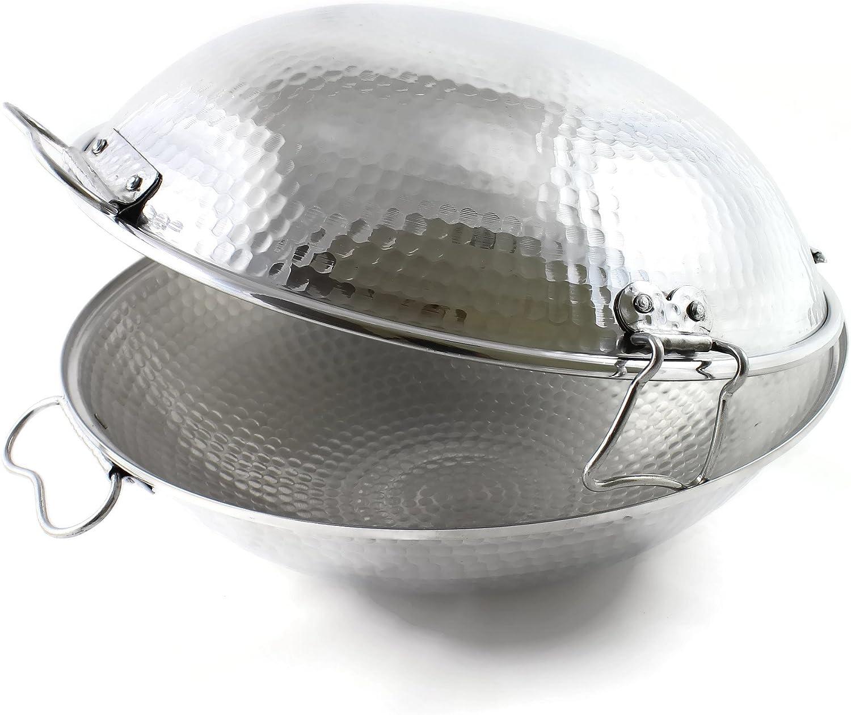 Cataplana original portuguesa en aluminio vitroceramica 33 Cm